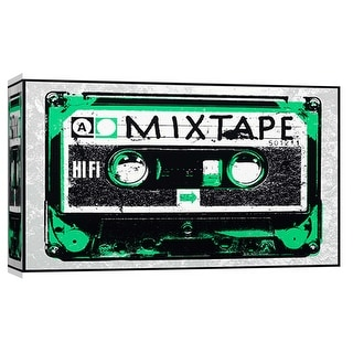 """PTM Images 9-102046  PTM Canvas Collection 8"""" x 10"""" - """"Mixtape"""" Giclee Music Art Print on Canvas"""