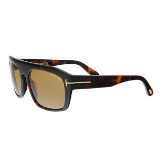 0f96dbb5921a Tom Ford FT0470 S 56E CONRAD Havana Square Sunglasses - 58-18-145
