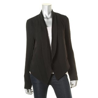 Bailey 44 Womens Sheer Back Draped Jacket - L