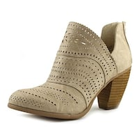 Not Rated Cinati Women  Round Toe Leather  Ankle Boot