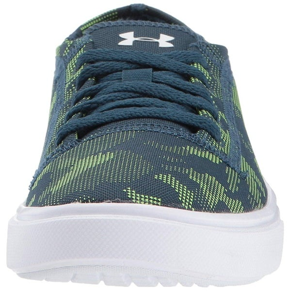 048a7770638a Kids Under Armour Girls KickIt2 low Low Top Lace Up Skateboarding Shoes