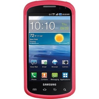 Samsung Stratosphere i405 Soft Touch Hard Shell Case (Pink)