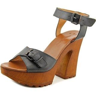 Musse & Cloud Noemi Women  Open Toe Leather  Platform Sandal