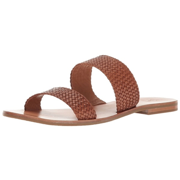 FRYE Womens woven Open Toe Casual Ankle Strap Sandals