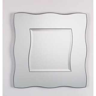 Alno 2559-102 35 x 35 Inch Frameless Square Mirror - N/A
