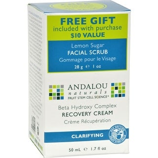 Andalou Naturals - Clarifying Clear Overnight Recovery Cream ( 1 - 1.7 OZ)