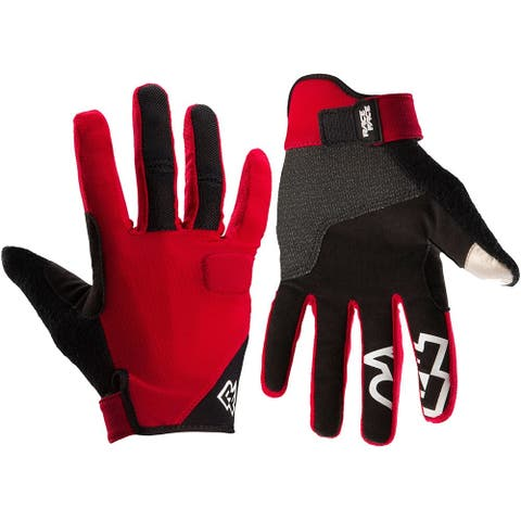 Race face trigger gloves red xs