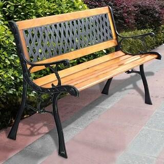 Costway 49 1/2'' Patio Park Garden Bench Porch Path Chair Outdoor Deck Cast Iron Hardwood https://ak1.ostkcdn.com/images/products/is/images/direct/716cba4d7270c5b07bc2e1ccc7a93136da95cb18/Costway-49-1-2%27%27-Patio-Park-Garden-Bench-Porch-Path-Chair-Outdoor-Deck-Cast-Iron-Hardwood.jpg?_ostk_perf_=percv&impolicy=medium