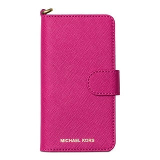 MICHAEL Michael Kors Cell Phone Case Leather Organizer - o/s