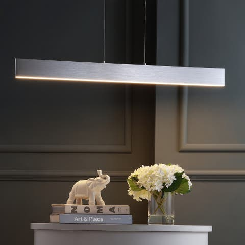 """Draper 40"""" Dimmable Adjustable Integrated LED Pendant by JONATHAN Y"""