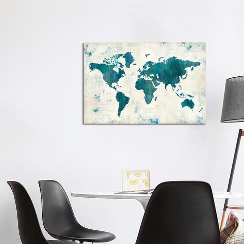 """iCanvas """"Discover The World II"""" by Melissa Averinos Canvas Print"""