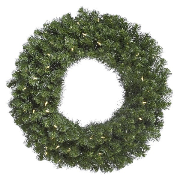 "24"" Douglas Fir Wreath 200T 50WmWht LED"