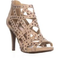 Fergalicious Histeria2 Studded Strappy Sandals, Nude