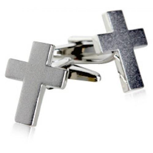 Cross Faith Spirituality Religion Church Pastor Preacher Minister Cufflinks