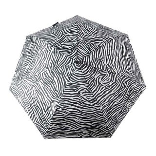 Beautiful Zebra Striped Folding Umbrella 42 Inch