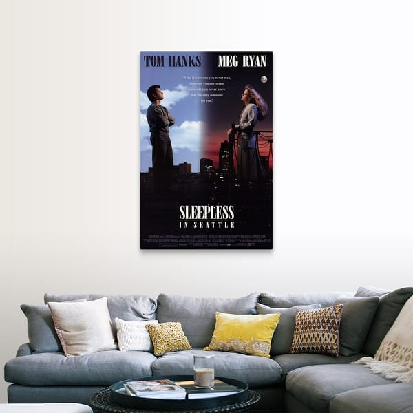 Shop Black Friday Deals On Sleepless In Seattle 1993 Canvas Wall Art Overstock 24137220