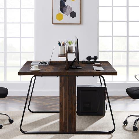 Nestfair Home OfficeComputer Desk Large Workstation
