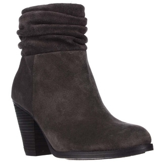 Vince Camuto Hesta Scrunch Ankle Boots, Charcoal Grey