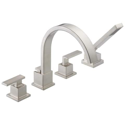 Delta Vero: Roman Tub Trim with Hand Shower