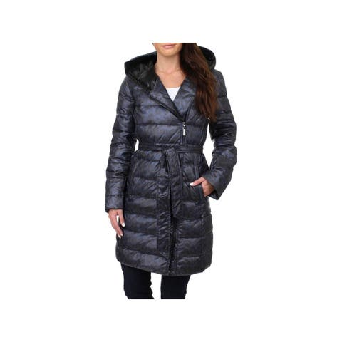 5321b36c762 Ellen Tracy Womens Down Coat Winter Midi