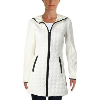 1 Madison Expedition Womens Quilted Coat Fall Fleece