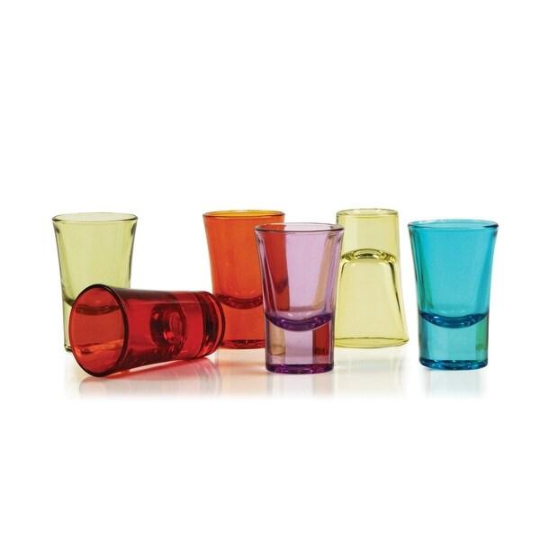 Palais Glassware® Verre à Liqueur Elegent Heavy Base Shot Glass Set, 1.5 Ounce - Set of 6