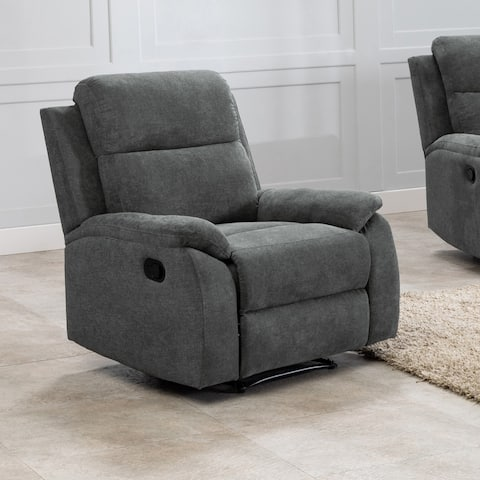 Contemporary Faux Leather Living Room Reclining Chair