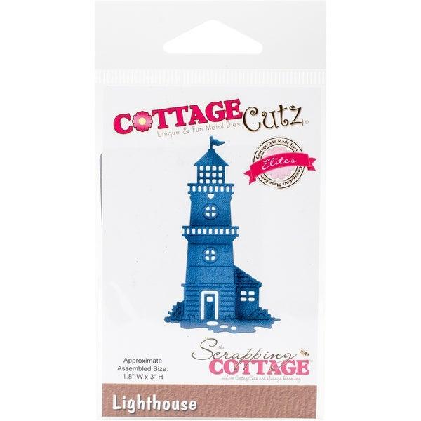 """CottageCutz Elites Die-Lighthouse 1.8""""X3"""""""
