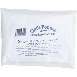 Ultimate Quilt Pounce Chalk Refill -2oz White