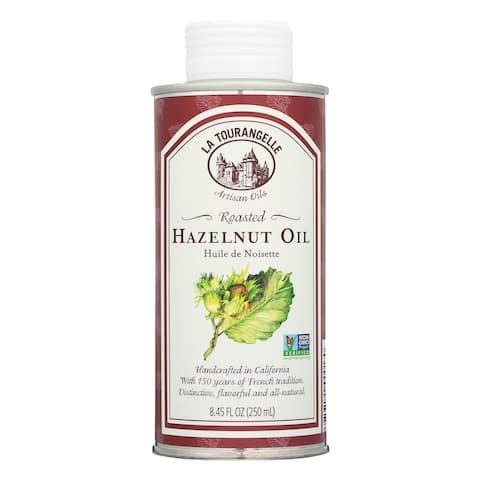 La Tourangelle Roasted Hazelnut Oil - Case of 6 - 8.45 Fl oz.