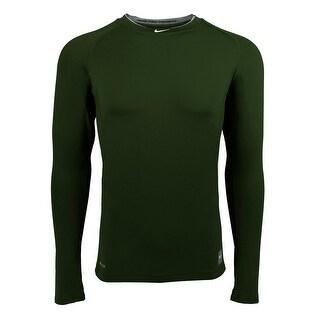 Nike Men's Pro Combat Core Fitted Raglan L/S Shirt