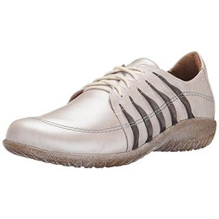 Naot Womens Tangaru Leather Metallic Casual Shoes - 35