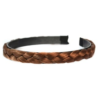 Braid Wig Hair Band Hair Clasp    light brown