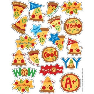Pizza Scented Stickers