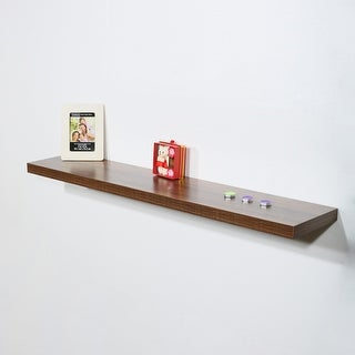 Link to Modern and Contemporary Antique Walnut Floating Shelf - 47.2*9.25*1.5 inches Similar Items in Accent Pieces