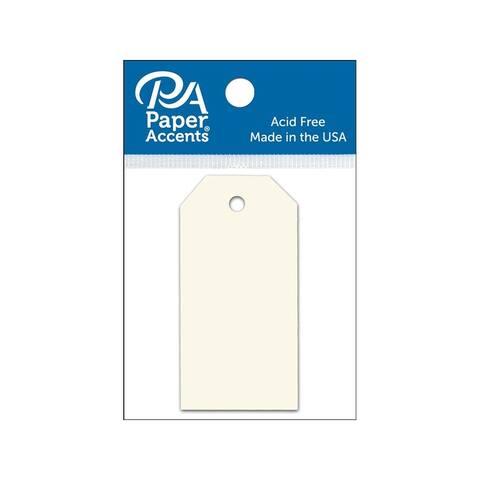 Adpctag-xxs 119 craft tags 1 25x2 5 25pc cream