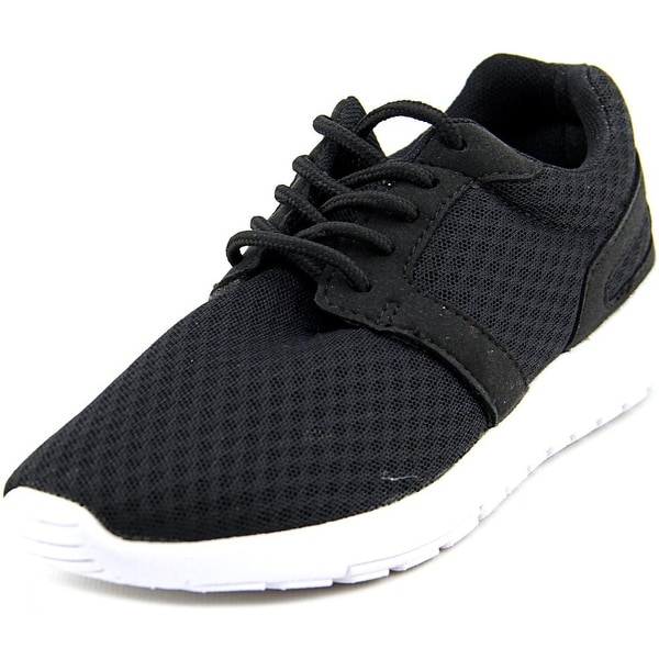 Dream Pairs 5004-W Women Round Toe Synthetic Black Running Shoe