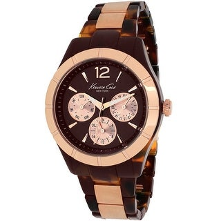 Kenneth Cole Women's Classic KC0003 Brown Dial watch