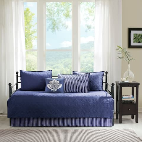 Madison Park Mansfield 6 Piece Reversible Daybed Cover Set