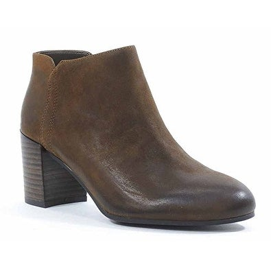 Franco Sarto Womens Narcissa Leather Almond Toe Ankle Fashion Boots
