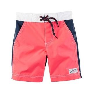 Carter's Baby Boys' Swim Trunks, 18 Months - Navy/Pink