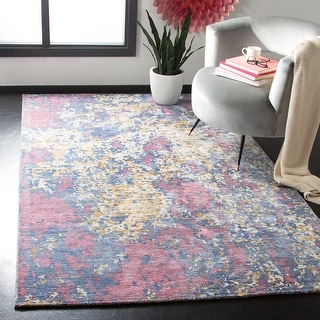 Safavieh Handmade Mirage Saeko Modern Abstract Viscose Rug