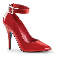 Pleaser Women's Seduce 431 Red Patent