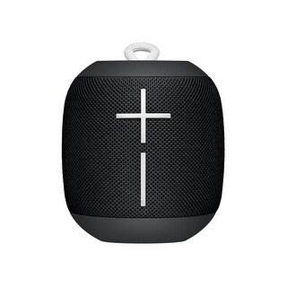 Logitech Ultimate Ears WONDERBOOM Portable Bluetooth Speaker - Phantom Black Speakers