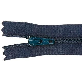 """Ziplon Coil Zipper 14""""-Navy - Blue"""