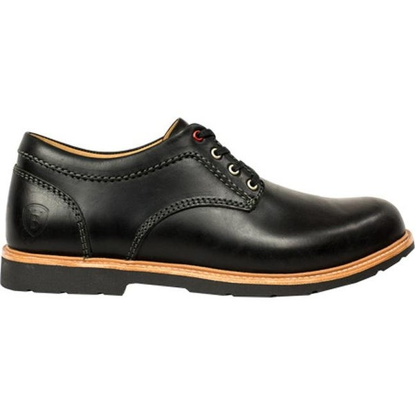 Boston Boot Co. Men's Berkeley Oxford Black Leather
