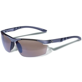 Gargoyles ASSAULT POLARIZED MT METALLIC LT.GUN/BROWN/SILVER Sunglasses