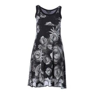 Karen Kane Womens Sleeveless Mid-Calf Casual Dress