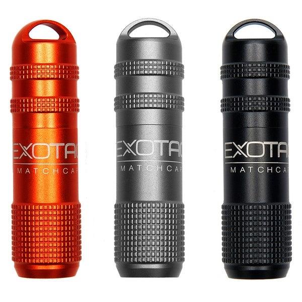 Exotac MATCHCAP Waterproof Match and Striker Case