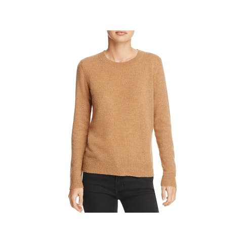 Theory Womens Fantina Pullover Sweater Cashmere Crew Neck